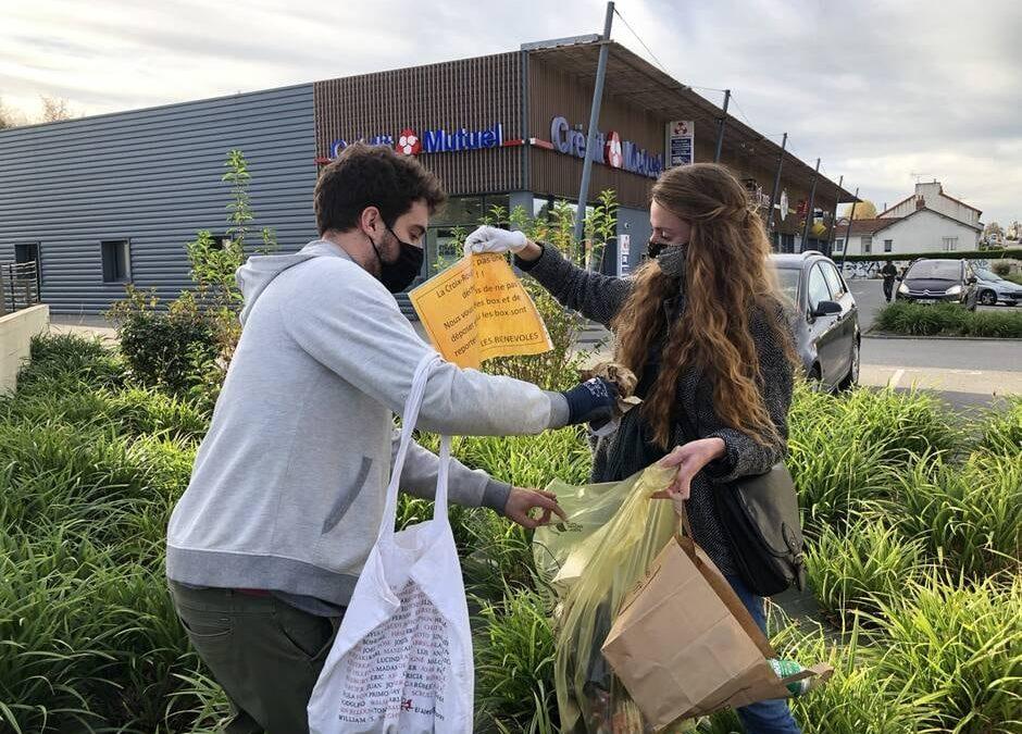 Ils ramassent les déchets à La Roche sur Yon
